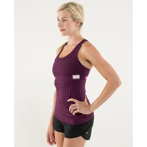 Lululemon Stuff Your Bra Tank II Plum